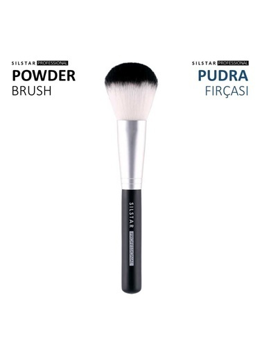 Silstar Powder Brush - Yumuşak Tüylü Pudra Fırçası Renksiz